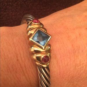 David Yurman bracelet.